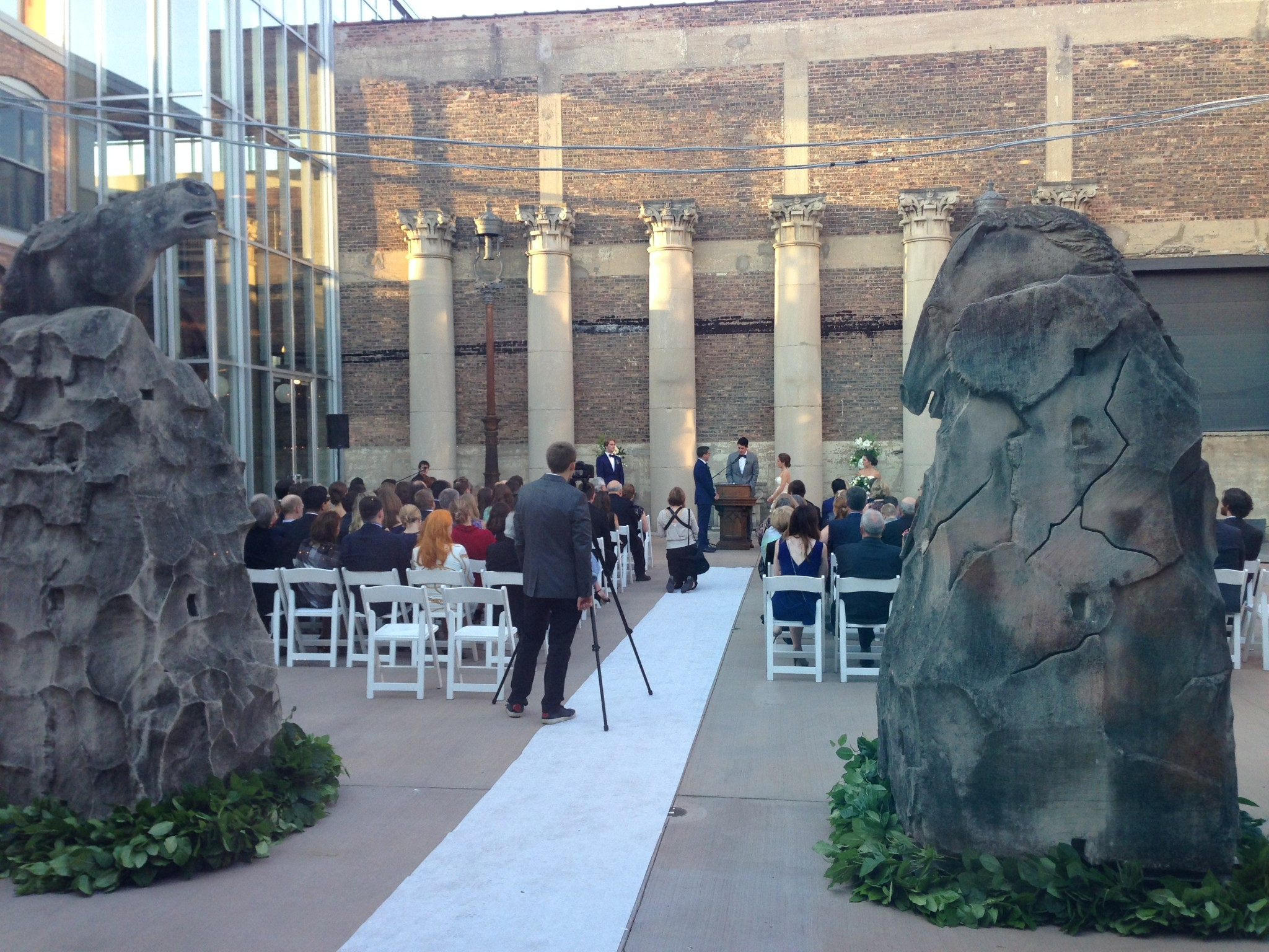 Architectural Artifacts Does Weddings