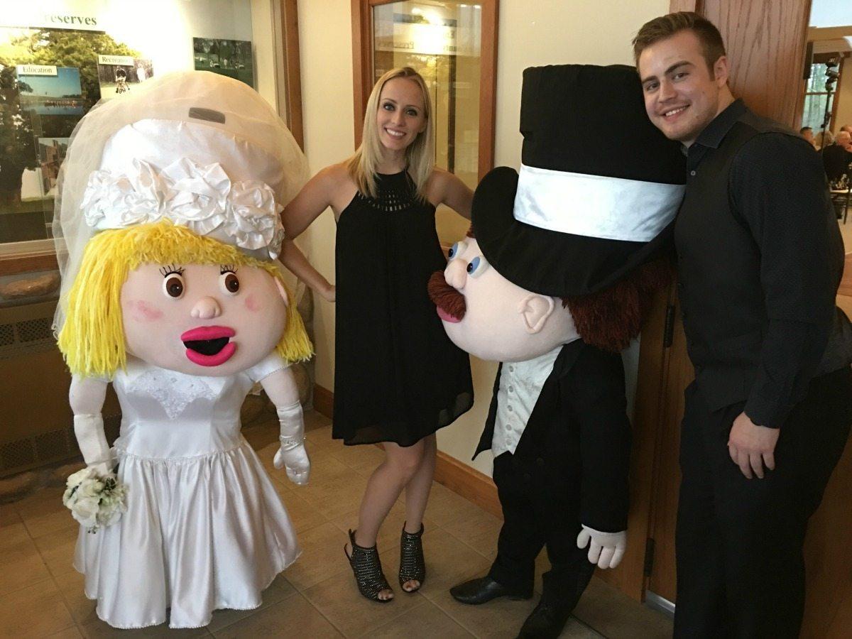 Brittany Brumfield at Wedding
