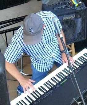 Chris Heroldt wearing sox cap
