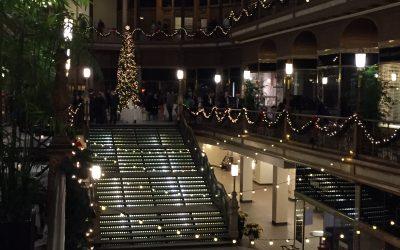 Hyatt Cleveland Arcade Wedding