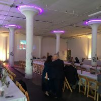 Red Space Wedding Event