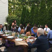 Barrington Home Backyard Wedding