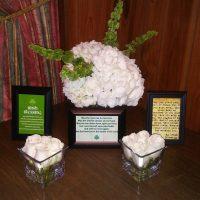 Riverside Inn Wedding table decor