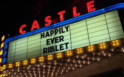 Castle Theater Wedding Reception