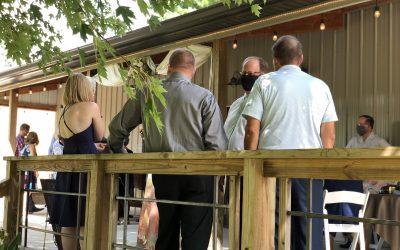 Ironwood Rural Event Center Wedding Celebration