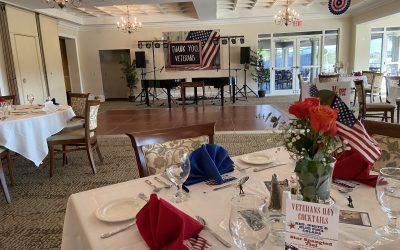 Tara Golf Country Club Military Corporate Event